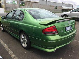 2005 Ford Falcon BF XR6 Green 4 Speed Auto Seq Sportshift Sedan