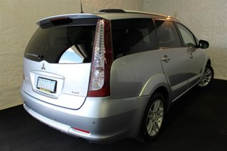 2010 Mitsubishi Grandis BA MY09 VR-X Silver 4 Speed Sports Automatic Wagon.