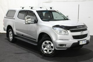 2014 Holden Colorado RG MY14 LTZ Crew Cab 4x2 Silver 6 Speed Sports Automatic Utility.