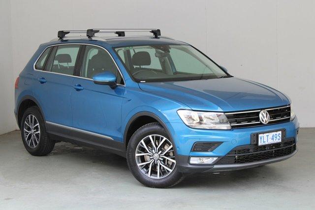 Used Volkswagen Tiguan 5N MY17 132TSI DSG 4MOTION Comfortline Phillip, 2017 Volkswagen Tiguan 5N MY17 132TSI DSG 4MOTION Comfortline Blue 7 Speed