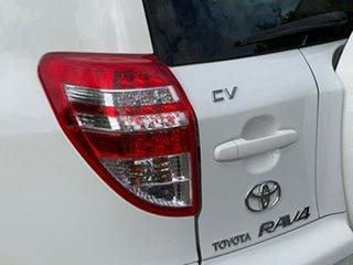 2010 Toyota RAV4 ACA33R MY09 CV White 4 Speed Automatic Wagon