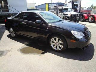 2010 Chrysler Sebring JS Cabrio Limited Black 6 Speed Automatic Cabriolet.