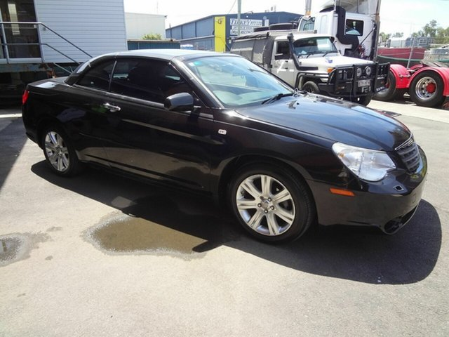 Used Chrysler Sebring JS Cabrio Limited Coopers Plains, 2010 Chrysler Sebring JS Cabrio Limited Black 6 Speed Automatic Cabriolet