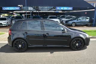 2009 Volkswagen Golf 1K MY09 R32 Black 6 Speed Direct Shift Hatchback.