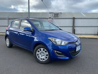 2012 Hyundai i20 PB MY13 Active Blue 6 Speed Manual Hatchback.