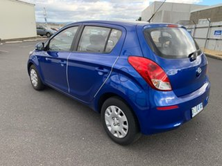 2012 Hyundai i20 PB MY13 Active Blue 6 Speed Manual Hatchback