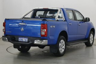 2014 Holden Colorado RG MY14 LTZ Crew Cab Blue 6 Speed Sports Automatic Utility