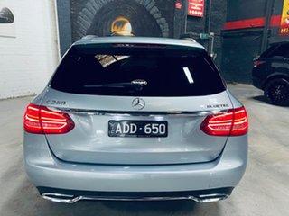 2015 Mercedes-Benz C-Class S205 C250 BlueTEC Estate 7G-Tronic + Silver 7 Speed Sports Automatic