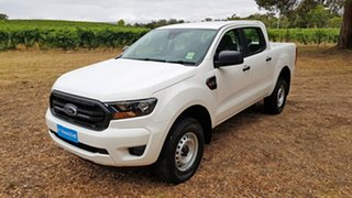 2019 Ford Ranger PX MkIII 2020.25MY XL White 6 Speed Sports Automatic Double Cab Pick Up