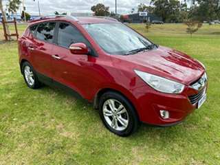2011 Hyundai ix35 LM MY12 Elite AWD Remington Red 6 Speed Sports Automatic Wagon.
