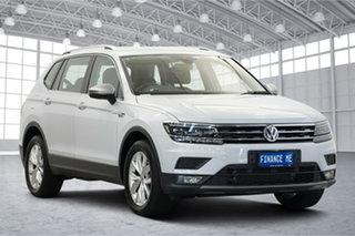 2019 Volkswagen Tiguan 5N MY18 110TDI Comfortline DSG 4MOTION Allspace White Silver 7 Speed.