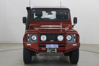 2011 Land Rover Defender 90 11MY Red 6 Speed Manual Wagon.