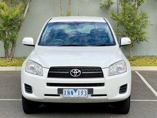 2010 Toyota RAV4 ACA33R MY09 CV White 4 Speed Automatic Wagon.