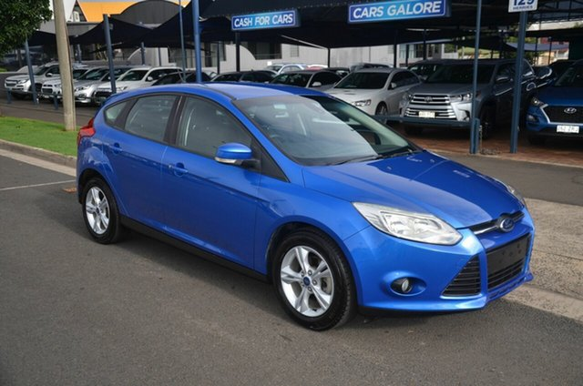 Used Ford Focus LW MK2 Upgrade Trend Toowoomba, 2014 Ford Focus LW MK2 Upgrade Trend Blue 6 Speed Automatic Hatchback