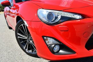 2014 Toyota 86 ZN6 GTS Red/Black 6 Speed Sports Automatic Coupe.