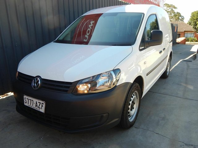 Used Volkswagen Caddy 2KN MY14 TSI160 SWB Blair Athol, 2013 Volkswagen Caddy 2KN MY14 TSI160 SWB White 5 Speed Manual Van