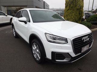 2018 Audi Q2 GA MY18 design S Tronic Ibis White 7 Speed Sports Automatic Dual Clutch Wagon.