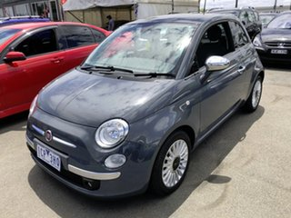 2013 Fiat 500 MY13 Lounge 5 Speed Automatic Hatchback.