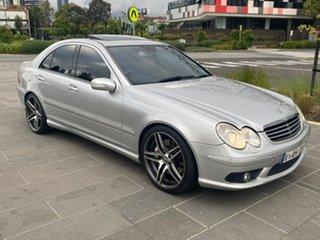 2005 Mercedes-Benz C-Class W203 MY2005 C55 AMG Silver 5 Speed Sports Automatic Sedan