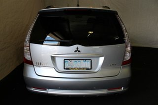 2010 Mitsubishi Grandis BA MY09 VR-X Silver 4 Speed Sports Automatic Wagon