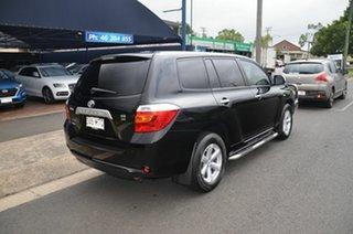 2009 Toyota Kluger GSU40R KX-R (FWD) 7 Seat Black 5 Speed Automatic Wagon.