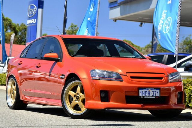 Used Holden Commodore VE SS Melville, 2006 Holden Commodore VE SS Orange 6 Speed Sports Automatic Sedan