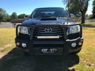 2014 Toyota Hilux KUN26R MY14 SR5 (4x4) Eclipse Black 5 Speed Automatic Dual Cab Pick-up.