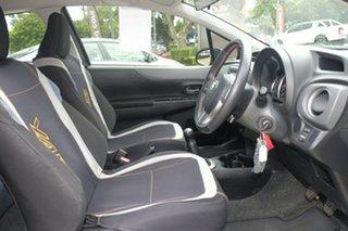 2014 Toyota Yaris NCP131R ZR Grey 5 Speed Manual Hatchback