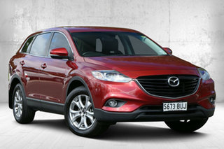 2014 Mazda CX-9 TB10A5 Classic Activematic Copper Red 6 Speed Sports Automatic Wagon.