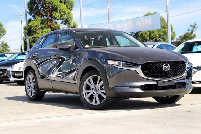Demo Mazda CX-30 C30B G25 Touring Vision (AWD) Kirrawee, 2020 Mazda CX-30 C30B G25 Touring Vision (AWD) Machine Grey 6 Speed Automatic Wagon