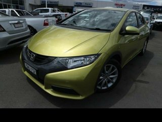 2012 Honda Civic FK VTi-L Green 5 Speed Automatic Hatchback.