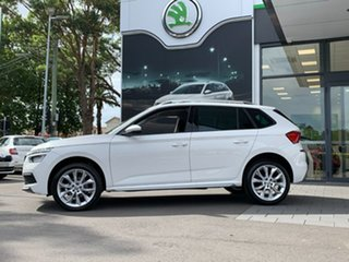 2020 Skoda Kamiq NW MY21 85TSI DSG FWD White 7 Speed Sports Automatic Dual Clutch Wagon