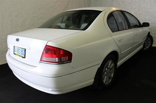 2003 Ford Falcon BA Futura White 4 Speed Sports Automatic Sedan.