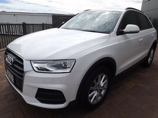 2017 Audi Q3 8U MY17 TDI S Tronic Quattro White 7 Speed Sports Automatic Dual Clutch Wagon