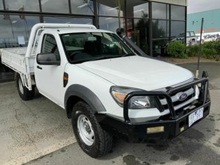2011 Ford Ranger PK XL (4x4) White 5 Speed Manual Cab Chassis.