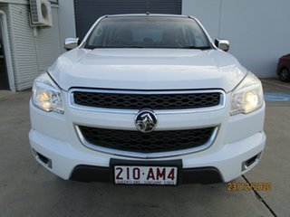 2015 Holden Colorado RG MY15 LTZ Crew Cab White 6 Speed Manual Utility.