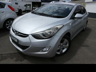 2012 Hyundai Elantra MD2 Elite Silver 6 Speed Automatic Sedan.