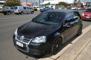 2009 Volkswagen Golf 1K MY09 R32 Black 6 Speed Direct Shift Hatchback