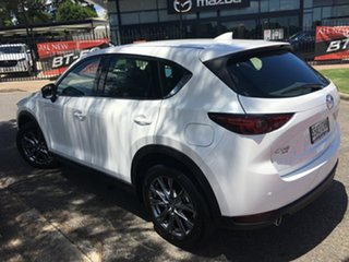 2020 Mazda CX-5 KF4WLA Akera SKYACTIV-Drive i-ACTIV AWD White Pearl 6 Speed Sports Automatic Wagon