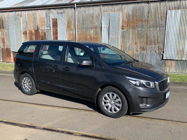 Used Kia Carnival YP MY16 S Launceston, 2016 Kia Carnival YP MY16 S Grey 6 Speed Sports Automatic Wagon