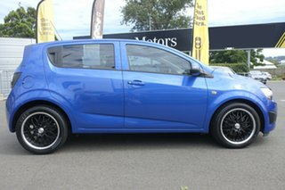 2012 Holden Barina TM MY13 CD Blue 6 Speed Automatic Hatchback.