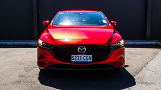2020 Mazda 3 BP2HL6 G25 SKYACTIV-MT GT Soul Red Crystal 6 Speed Manual Hatchback.