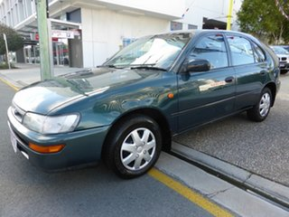 1998 Toyota Corolla AE101R CSi Seca Dark Green 4 Speed Automatic Liftback.