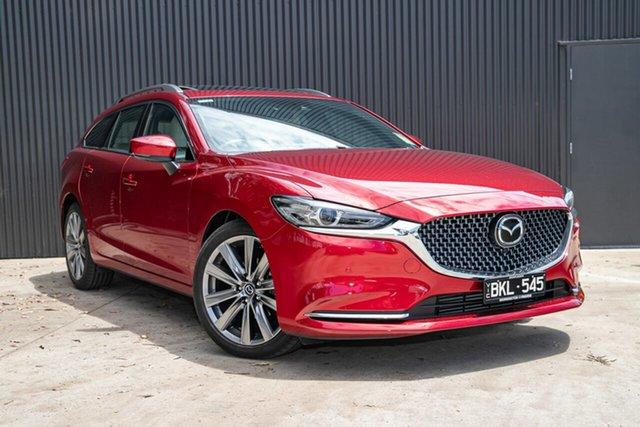 Demo Mazda 6 GL1033 Atenza SKYACTIV-Drive Mornington, 2020 Mazda 6 GL1033 Atenza SKYACTIV-Drive Soul Red Crystal 6 Speed Sports Automatic Wagon