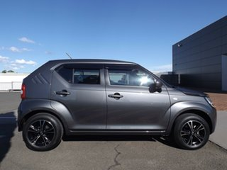 2017 Suzuki Ignis MF GL Grey 5 Speed Manual Hatchback.