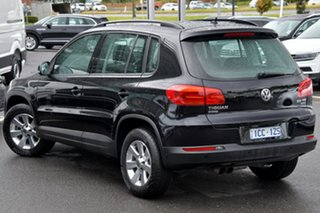 2014 Volkswagen Tiguan 5N MY14 132TSI DSG 4MOTION Pacific Black 7 Speed Sports Automatic Dual Clutch