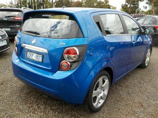 2013 Holden Barina TM MY13 CDX Blue 6 Speed Automatic Hatchback