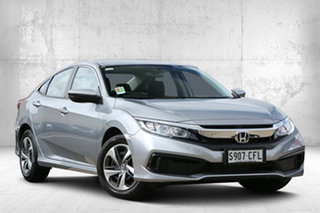 2020 Honda Civic 10th Gen MY20 VTi Lunar Silver 1 Speed Constant Variable Sedan.