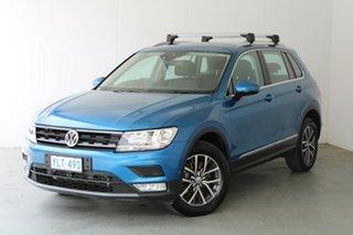 2017 Volkswagen Tiguan 5N MY17 132TSI DSG 4MOTION Comfortline Blue 7 Speed