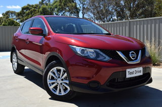 2016 Nissan Qashqai J11 ST Magnetic Red 6 Speed Manual Wagon